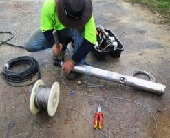 Assembling a submersible pump