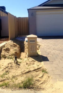 New house needs irrigation