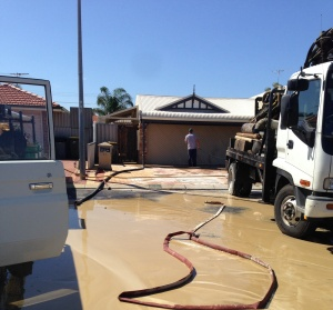 Drilling a new water bore in Marangaroo